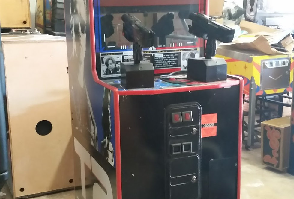Terminator 2 Judgement Day arcade game