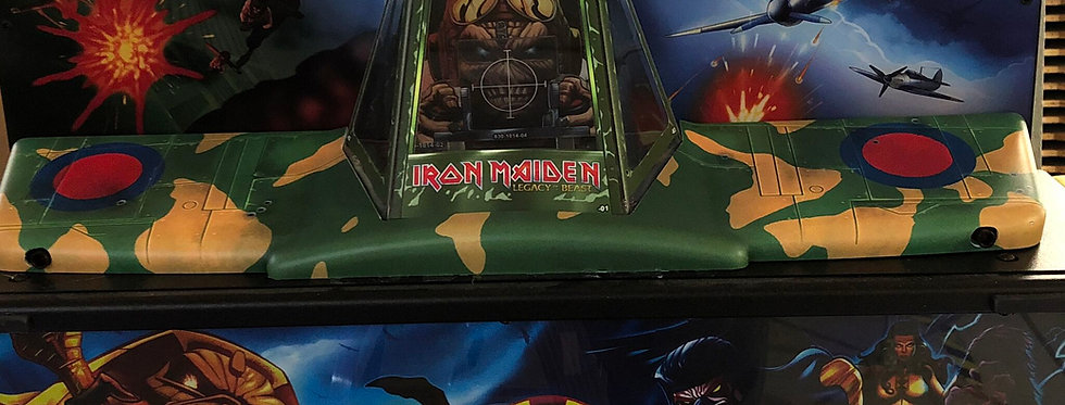 Aces High Iron Maiden Topper