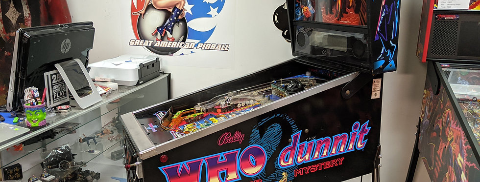 Who Dunnit pinball machine | Bally