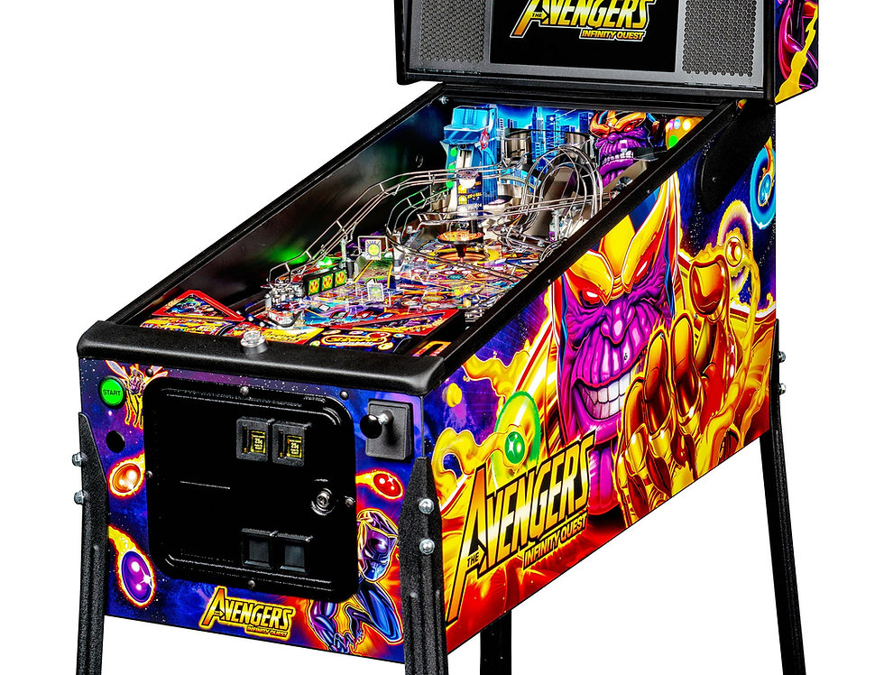 Avengers Pro Pinball machine
