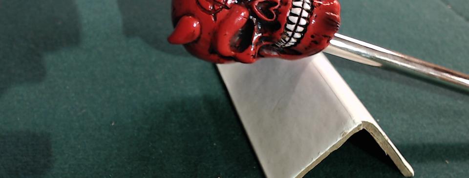 Devil Skull Shooter Rod