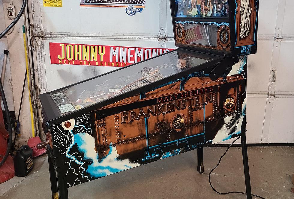 Mary Shelly's Frankenstein Pinball Machine