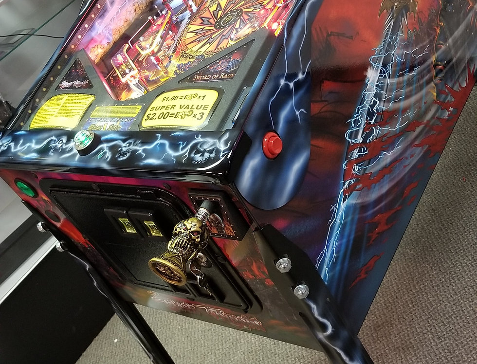 Black Knight Sword of Rage pro pinball machine | Custom