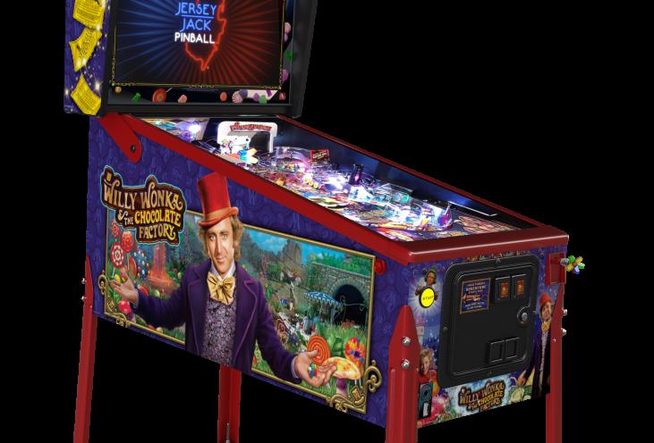 Willy Wonka Pinball Machine | Collectors Edition