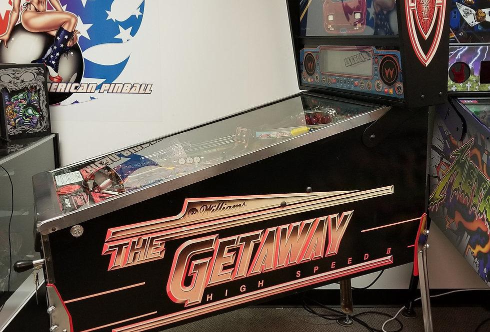 The Getaway pinball machine