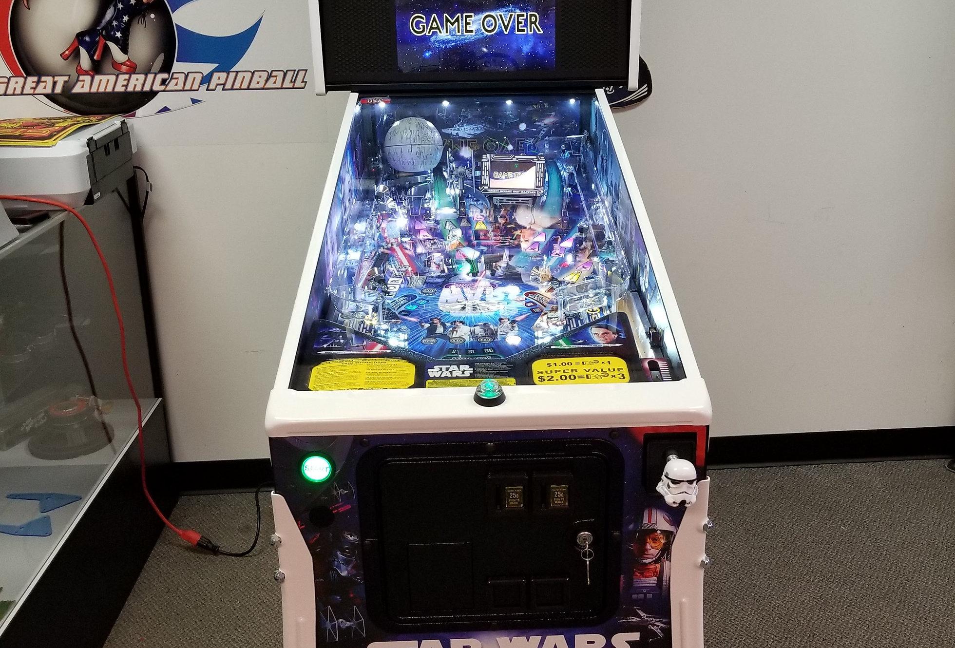 Star Wars Pinball Machine >> Star Wars Pro Pinball Machine Stern Website