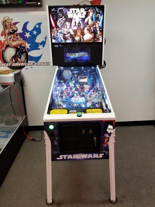 Star Wars Pinball Machine >> Star Wars Pro Pinball Machine Stern