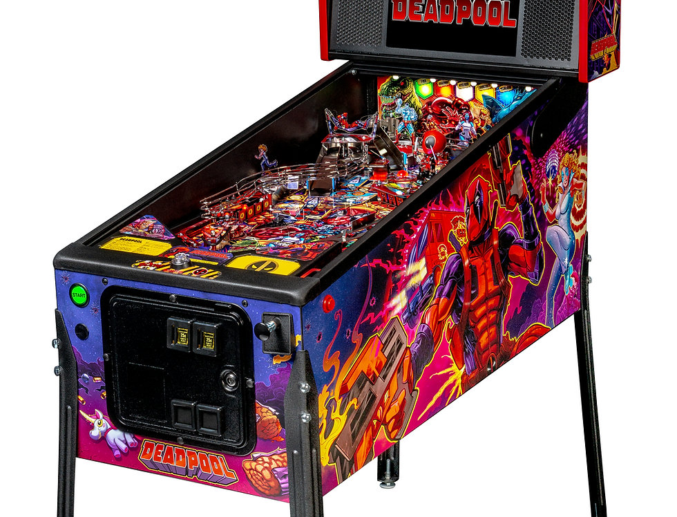 Deadpool pinball machine (Pro model) | Stern