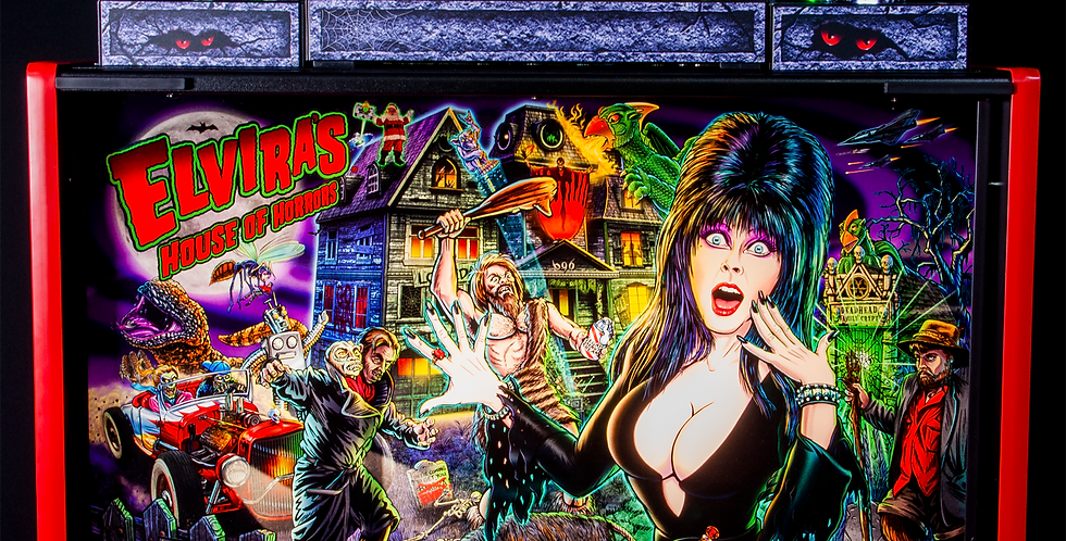 Elvira House of Horrors topper