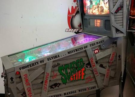 Custom Scared Stiff Pinball Machine 01