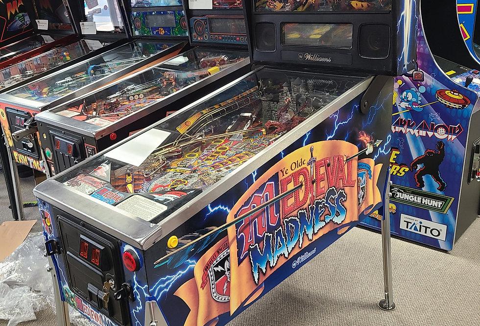 Medieval Madness pinball machine