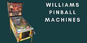 Williams Pinball Machines