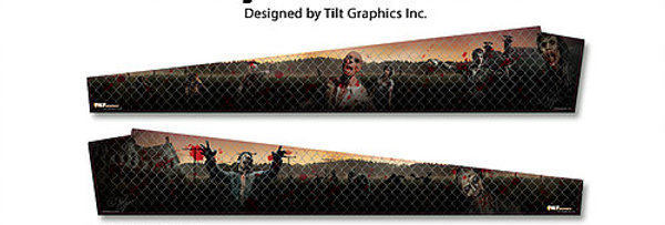 The Walking Dead: Fence GameBlades™ | Tilt Graphics