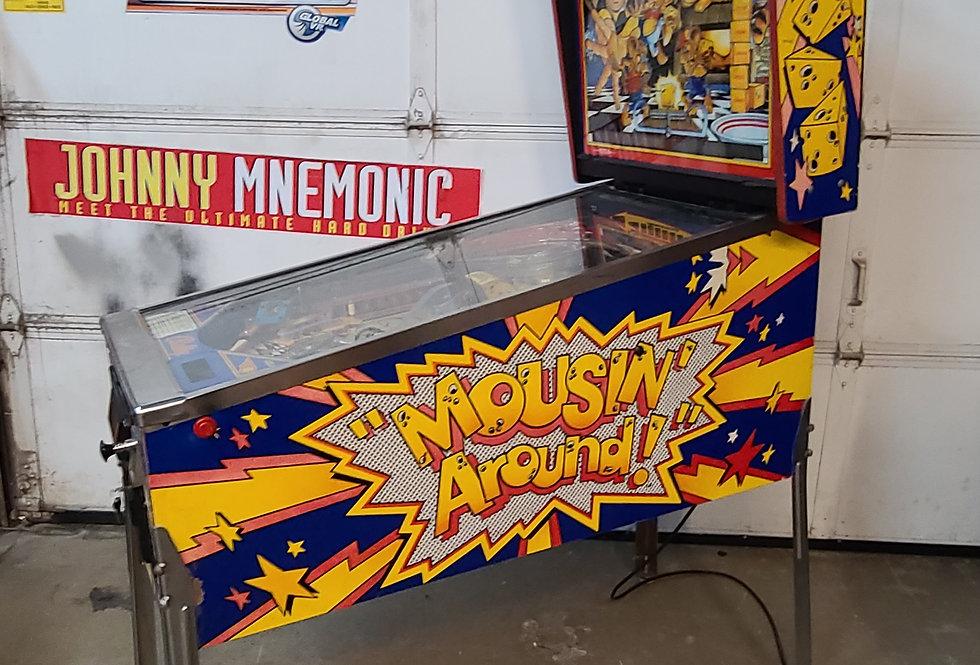 Mousin Around pinball machine | BAlly