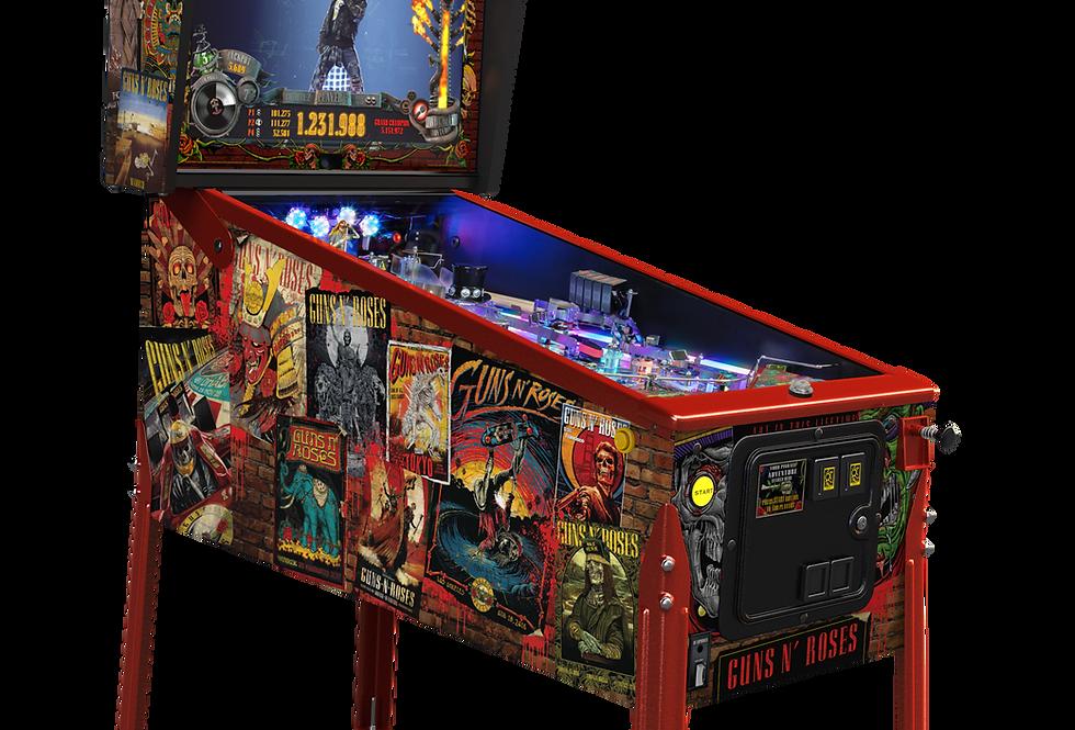 Guns n Roses pinball machine Limited Edition deposit