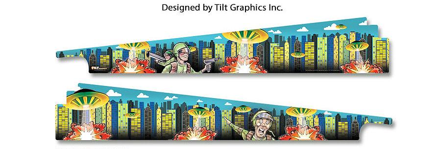Attack from Mars;  GameBlades™ | Tilt Graphics