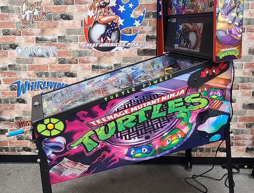 Teenage Mutant Ninja Turtles Premium pinball machine