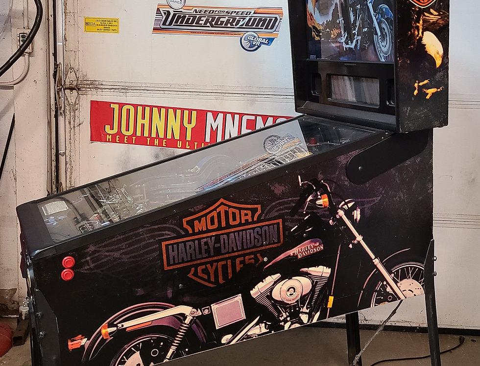 Harley Davidison Pinball machine | Stern
