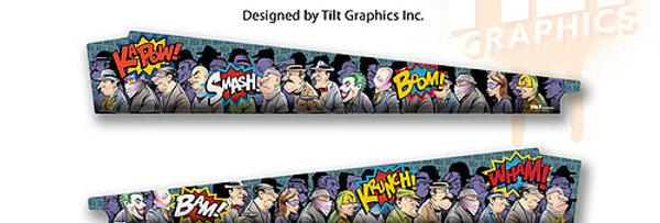 Batman '66: Intro GameBlades™ | Tilt Graphics