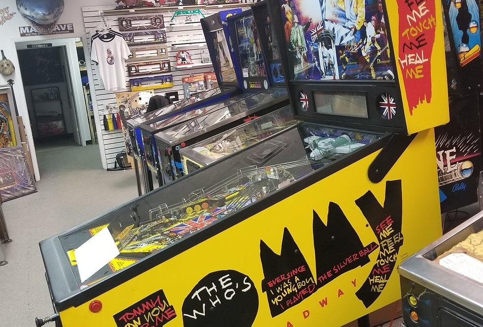 Tommy Pinball machine | Data East