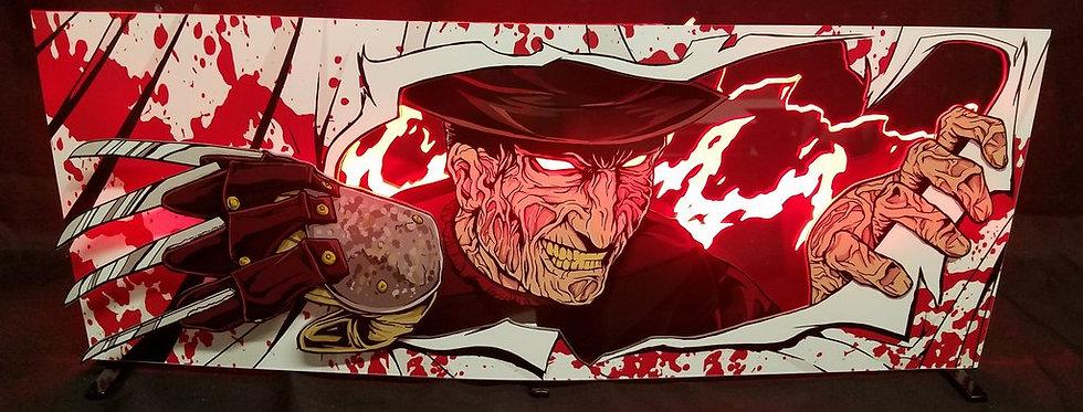 Freddy Custom Pinball Topper | Laseriffic