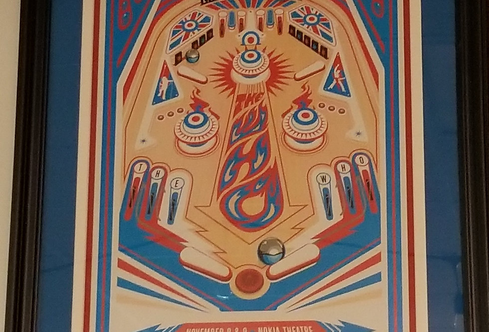 The Who pinball poster
