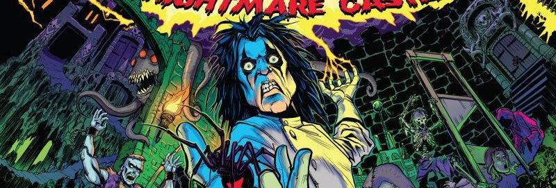 Alice Cooper's Nightmare Castle pinball machine