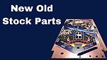 new old stock pinball parts