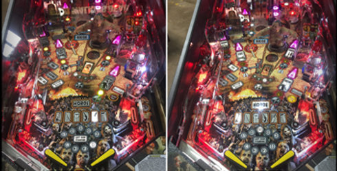 High Definition Anti-Reflection Pinball Glass