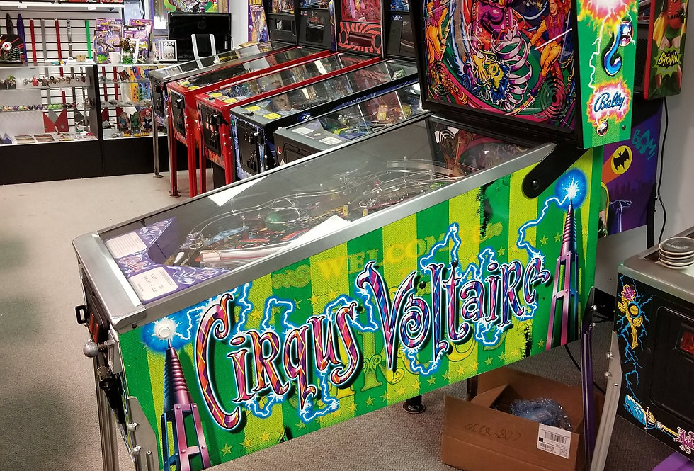 Cirqus Voltaire pinball machine | Bally