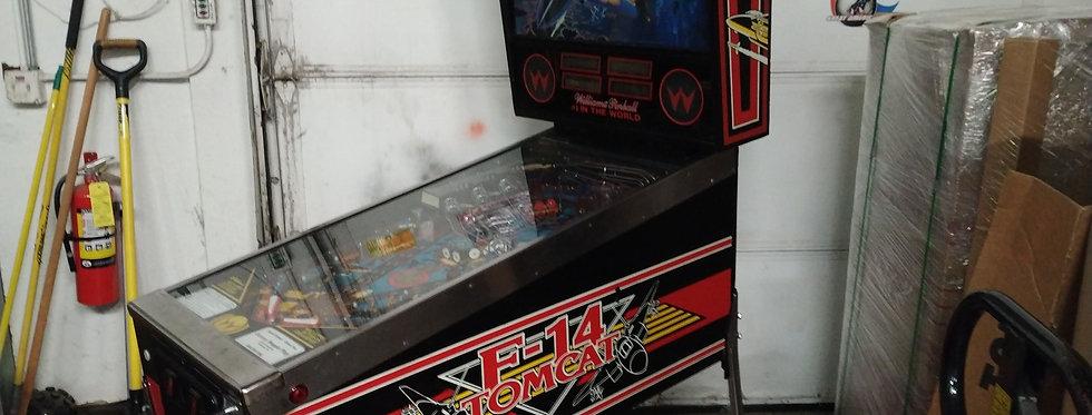 F-14 pinball machine