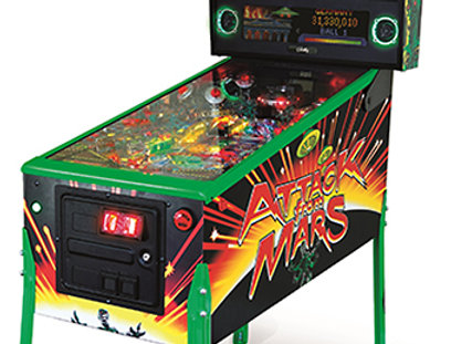 Attack From Mars Pinball Machine | Limited Edition