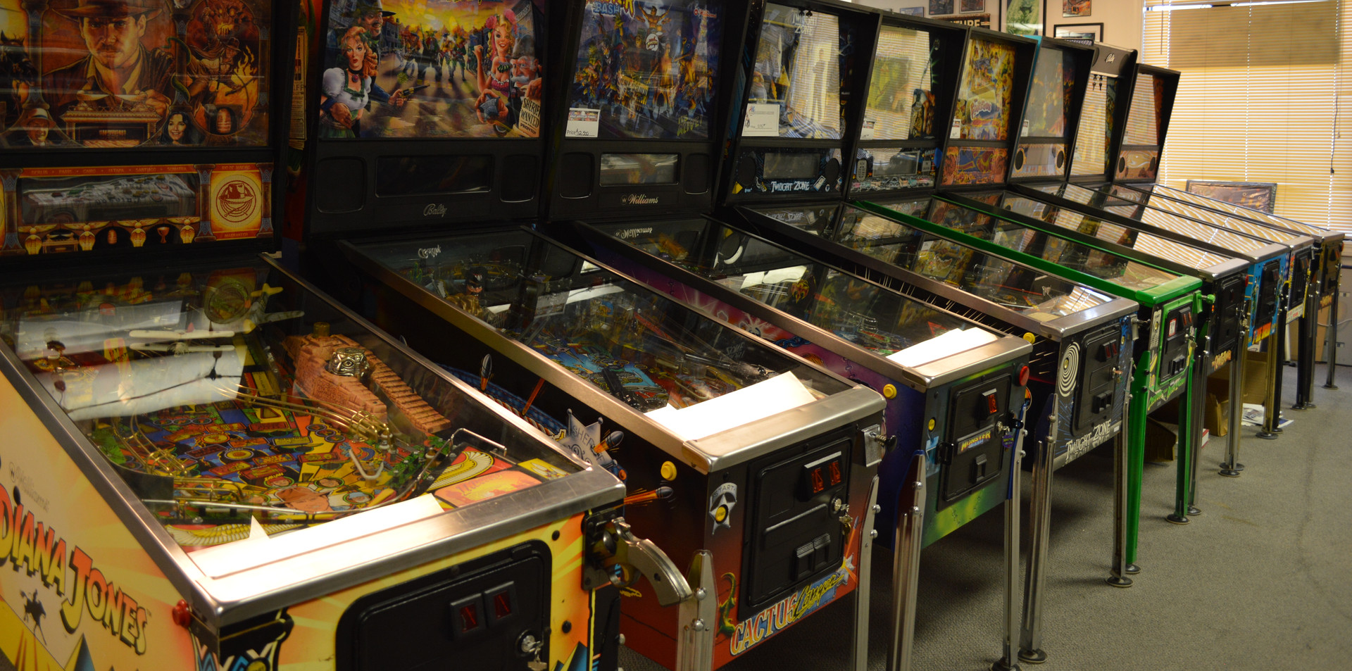 Largest Pinball Retailer in the Midwest