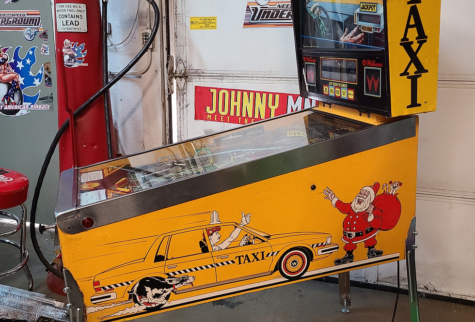 Taxi Pinball machine