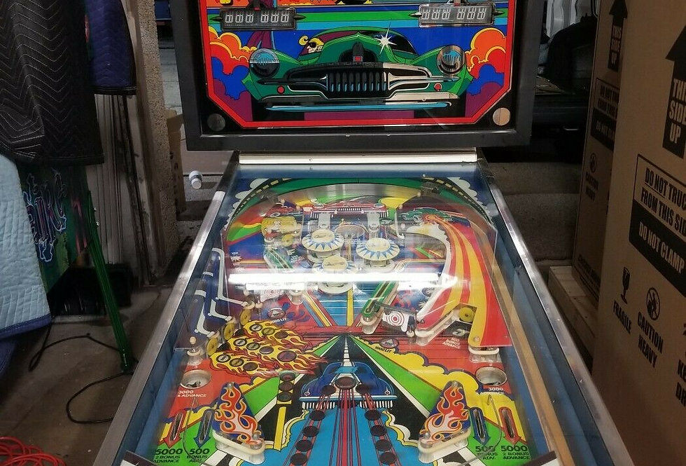 Hankin FJ Pinball Machine