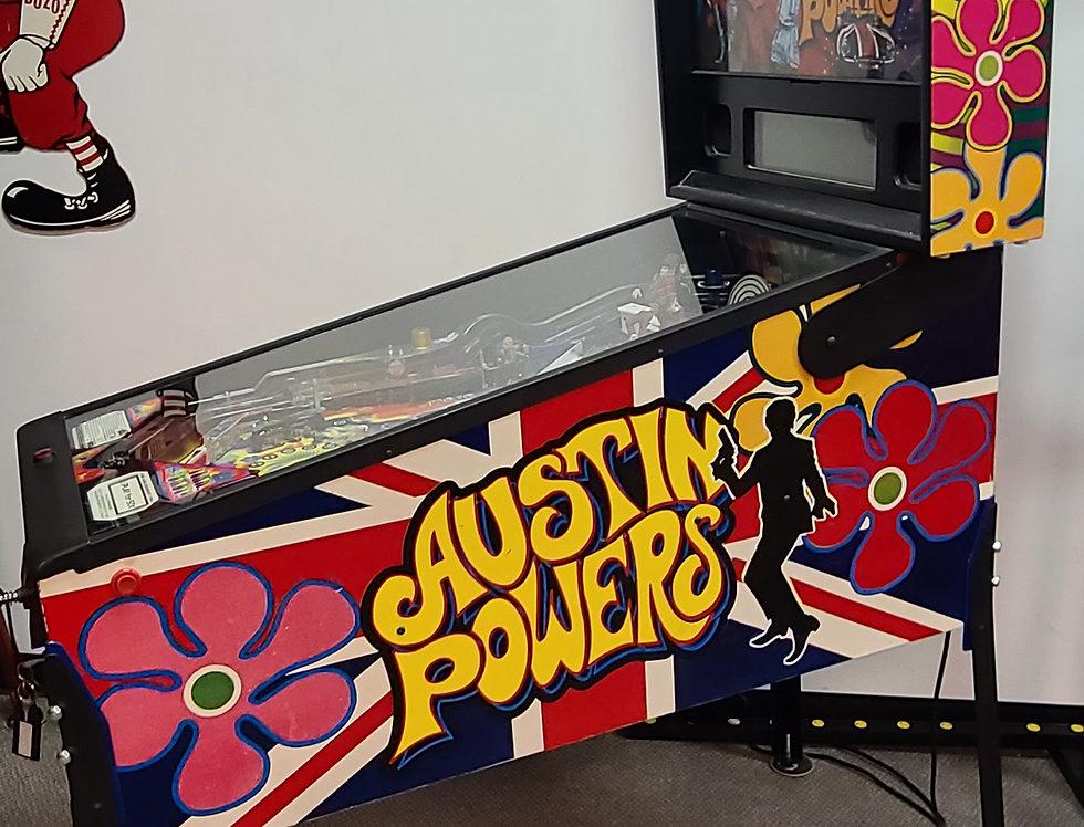 Austin Power Pinball machine
