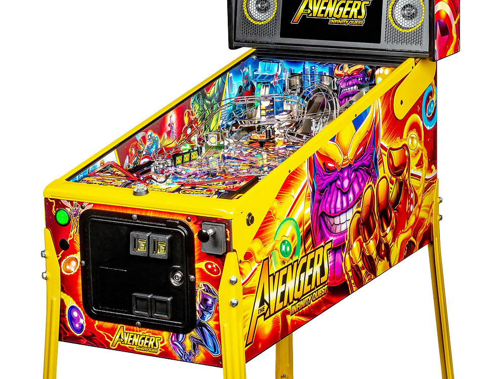 Avengers Infinity Quest pinball machine  LE