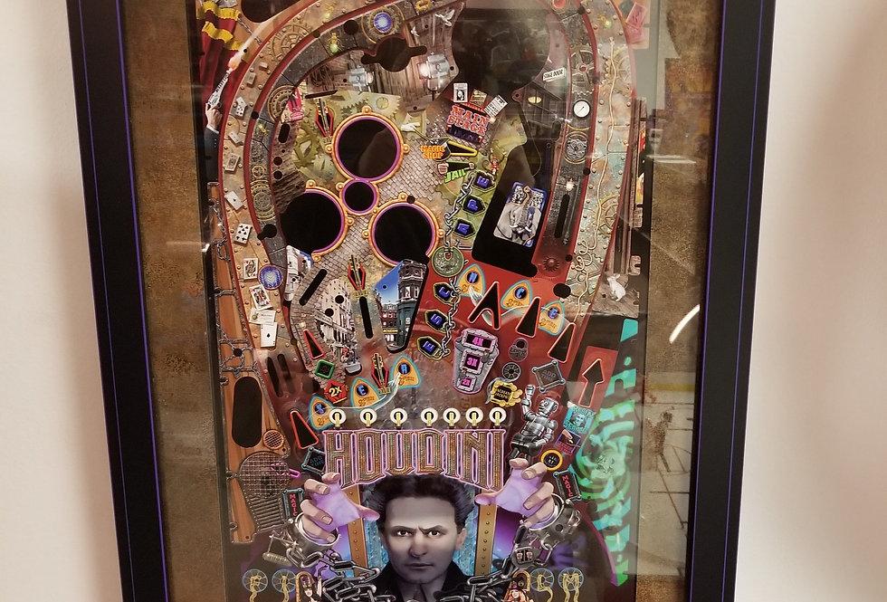 Houdini pinball poster