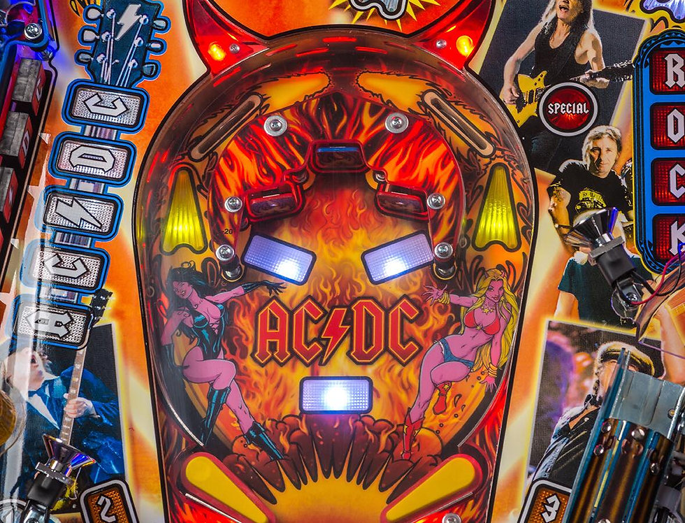 AC/DC Luci Premium Pinball Machine | Stern Pinball