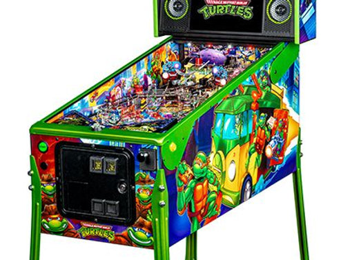 Teenage Mutant Ninja Turtles pinball machine | LE