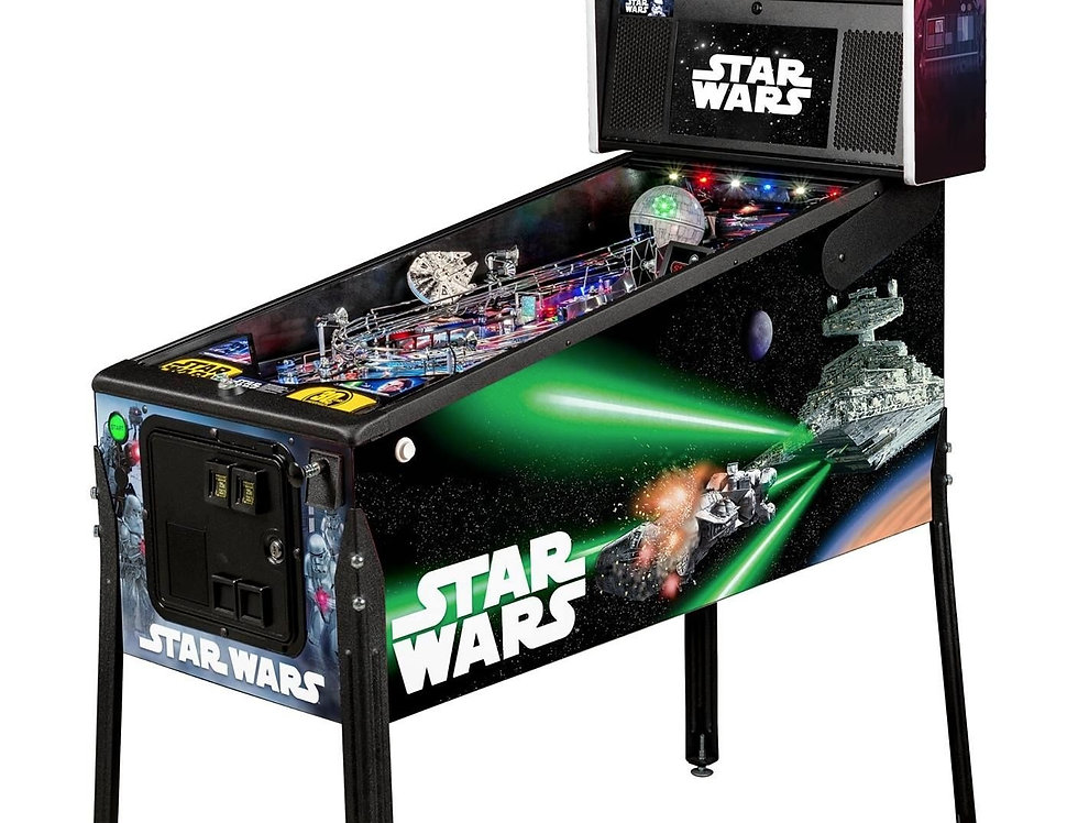 Star Wars Pinball Machine | Premium Edition