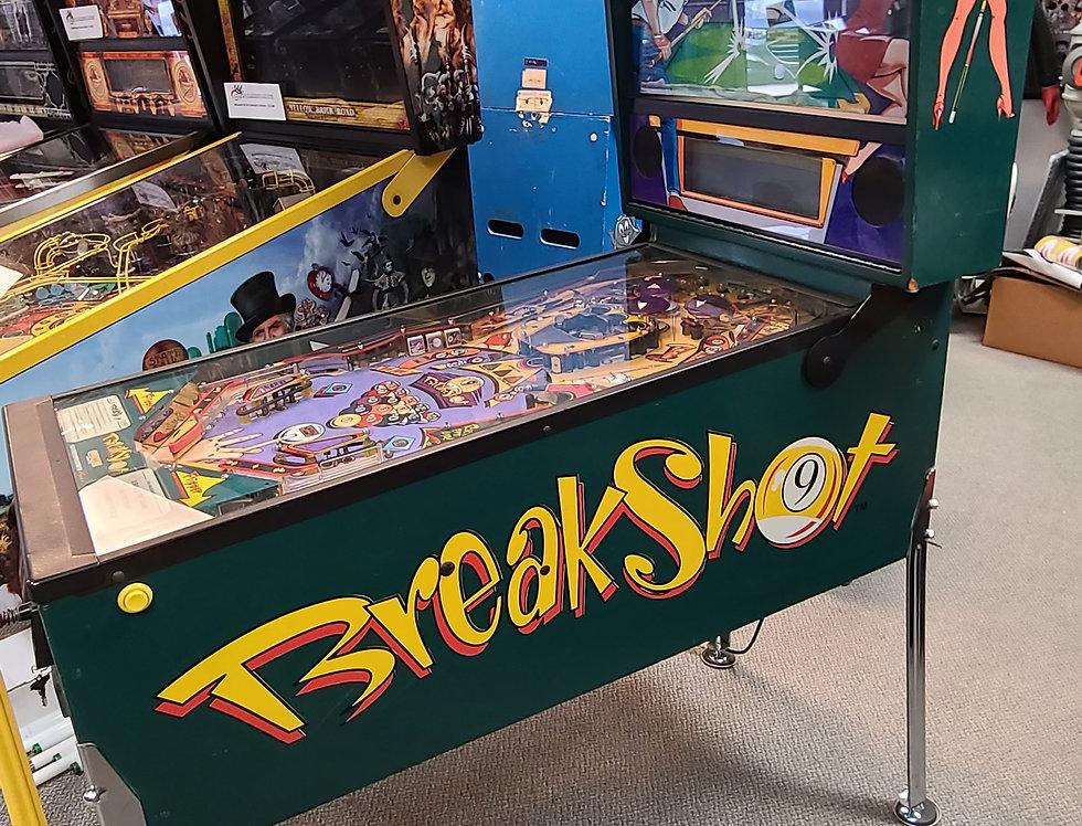Breakshot Pinball machine | Capcom