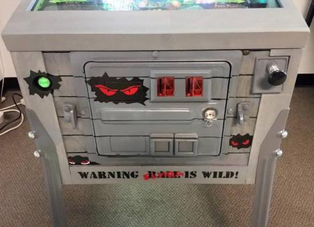 Custom Scared Stiff Pinball Machine 012