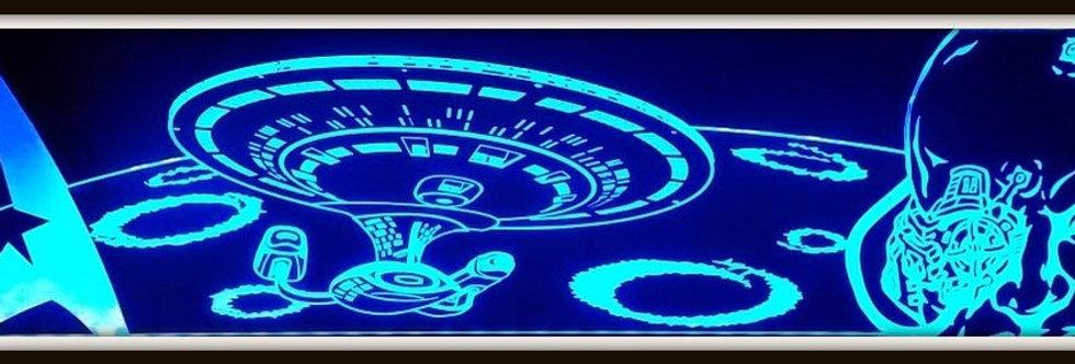 Star Trek TNG Custom Pinball Topper