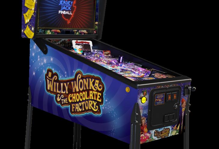 Willy Wonka Pinball Machine | Standard Edition