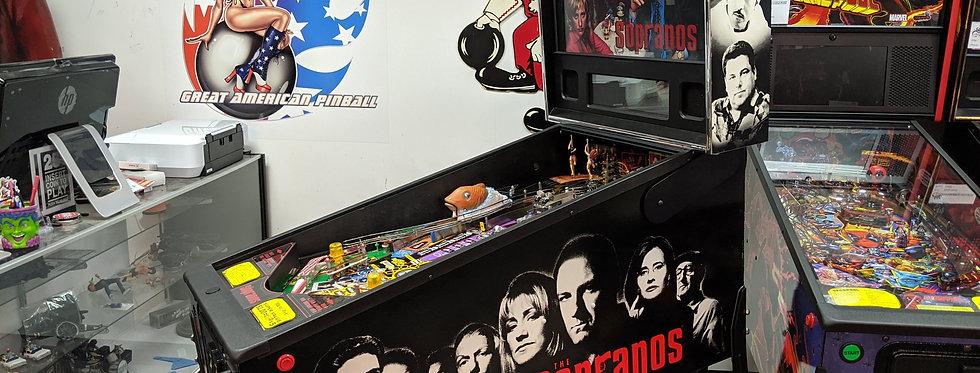 Sopranos Pinball Machine  | Stern