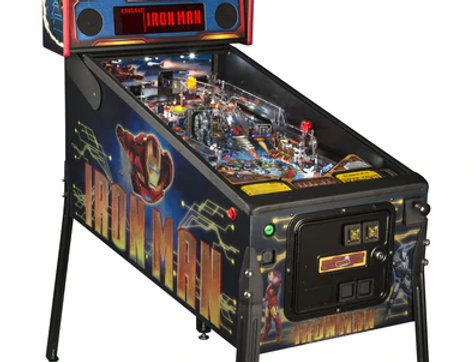 Iron Man Vault floor model | Stern Pinball