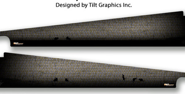 Addams Family: Wall GameBlades™ | Tilt Graphics