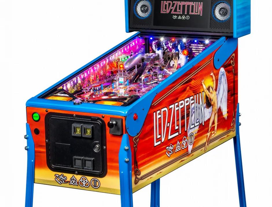 Led Zepplin limited Edition pinball machine  | Stern