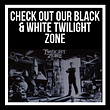 Black and White Twilight Zone Pinball